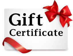 Give $30 gift certificates for anytime, a memory that lasts forever!